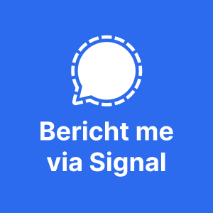 Bericht me via Signal